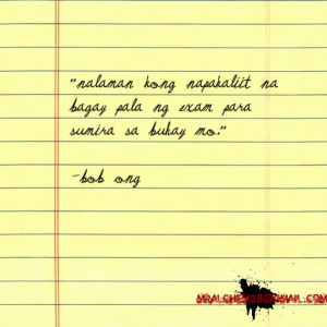 bob ong quotes Image