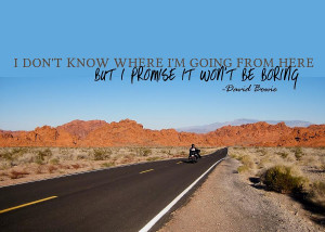 Highway Journey Quote Photograph