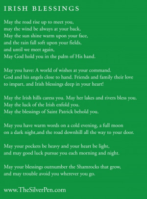 Happy St. Patrick's Day! – Irish Blessings