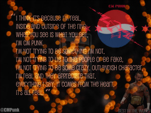 CM Punk Quote by KimchiObsessed