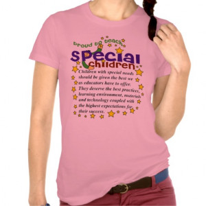 Children With Special Needs Quote Shirt