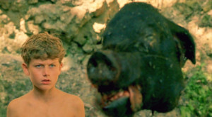 Simon finds the Lord of the Flies in this classic scene from the book.