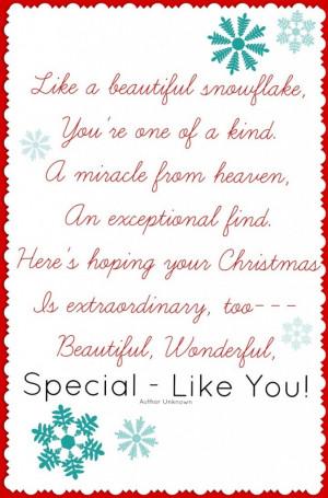 Silk Screen Mug & Snowflake Poem ~ Perfect Neighbor Gift! - Or so she ...