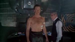 Val Kilmer (Batman-Bruce Wayne) and Michael Gough (Alfred Pennyworth ...