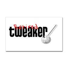 Retired Tweaker Rectangle Sticker for