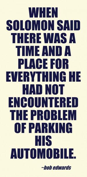 Bob Edwards car quote @Pinstamatic