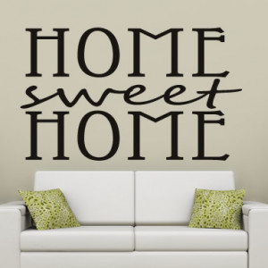 Home-Sweet-Home-Quote-Wall-Stickers-Wall-Art-Decal-Transfers