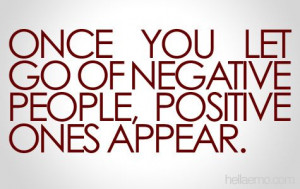 Staying Away From Negative People