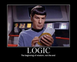 Be Logical not Emotional