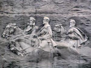... , Georgia: Jefferson Davis, Robert E. Llee, and Stonewall Jackson