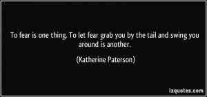 More Katherine Paterson Quotes
