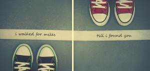 converse sneakers, love, love quote, love quotes, quote, quotes ...