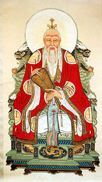 Laozi, depicted as Daode Tianzun