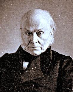 Representative Adams, copied from a lost daguerreotype taken in 1843 ...