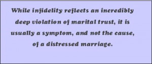 why is infidelity so common why are so many marriages afflicted