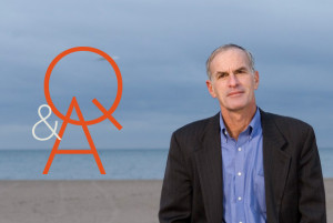 Norman Finkelstein at Coney Island. (Jeremy Liebman)