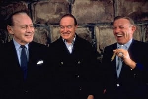 173-461 Bob Hope with Jack Benny and George Burns