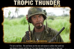 Robert Downey Jr in Tropic Thunder (2008)