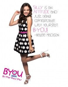 Actress Bailee Madison Stopped By And Shared An Inspiring Quote About