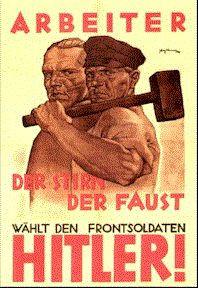 pro hitler labor poster a few nazi political propaganda posters