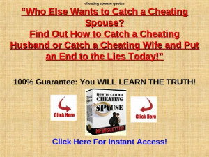 Cheating Spouse Quotes screenshot