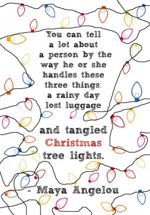 maya angelou # quotes # christmas # holidaycards