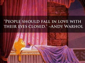 Sleeping-Beauty----Amazing-love-quotes-by-Andy-Warhol   We Heart It