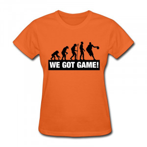 Gildan Shirt Girl basketball evolution we got game f2 Cute Quote ...