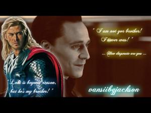 Loki and Thor :: Again :: by vansiibgjackson