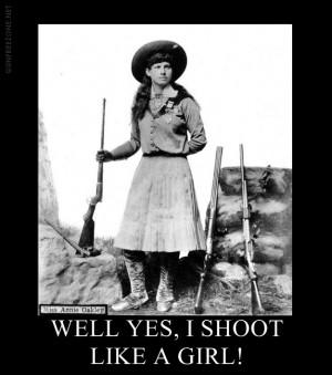 Gun Motivator Of The Day: Shoot Like A Girl