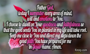 morning prayer quotes