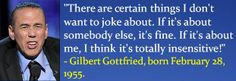 Gilbert Gottfried, born February 28, 1955. #GilbertGottfried # ...