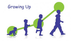 GROWING UP: BABY, CHILD (TODDLER), TEENAGER AND ADULT