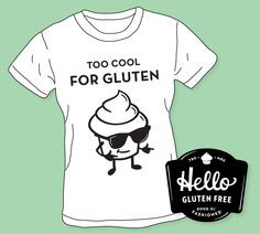Our friends at Hello Gluten Free know how to add a little comic relief ...