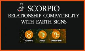 Scorpio Compatibility with Earth Signs: Scorpio Taurus