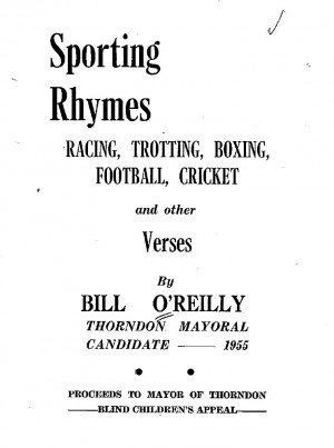 Sporting Rhymes And Other