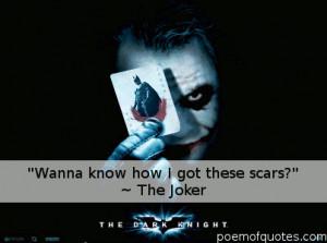 Famous Joker Quotes Dark Knight The jokers photos