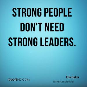 Ella Baker Quotes