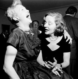 With Hedda Hopper