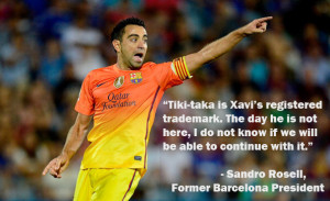 The former president of Barcelona fears that Xavi's retirement would ...