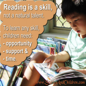 Reading quotes to share with children