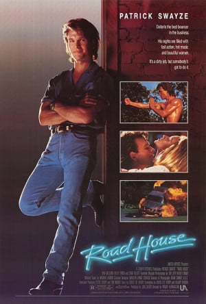 ROAD HOUSE POSTER ]