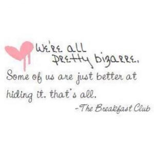 Breakfast club quotes, best, sayings, cute