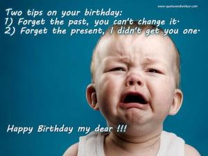 birthday quotes, jokes on birthdays, birthday ecards, friends birthday ...