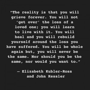 Elizabeth Kubler-Ross quote