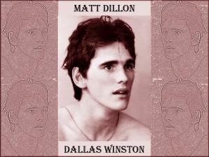 Matt Dillon - Dallas Winston by Matt-Dillon-Fans