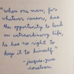 Remembering Jacques Cousteau (30 photos) CLICK HERE