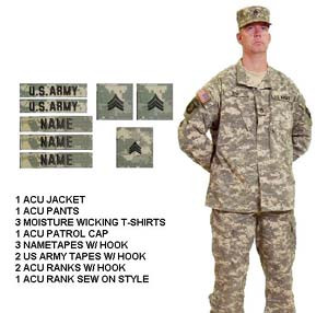 Army Combat Uniform ACU Package Deal