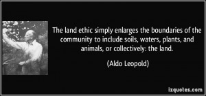 More Aldo Leopold Quotes