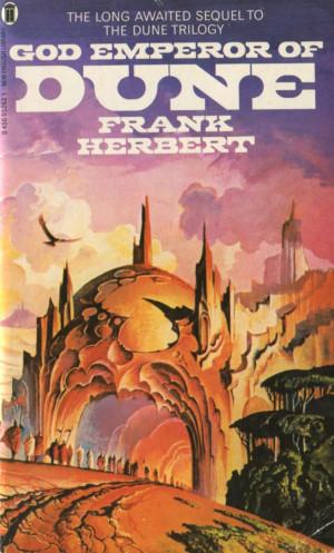 Frank Herbert - God Emperor of DuneAudio Book, Dunes, God Emperor ...